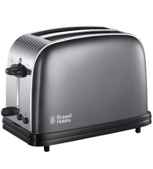 Russell Hobbs Colours Plus Grey 2 Slice Toaster | 23332