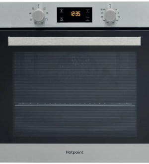 Hotpoint Self Cleaning Single Oven in Inox | SA3 540 H IX