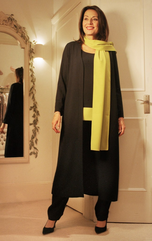 casual chic 11 coat dress top and scarfcasual chic 11 coat dress top and scarf