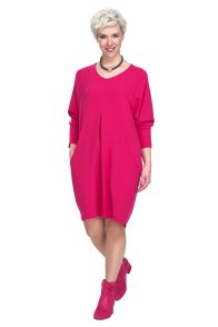 pink casual day dress perfect for a Christmas present
