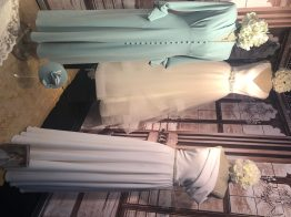 wedding dresses and mother of the bride and groom outfits, virtual