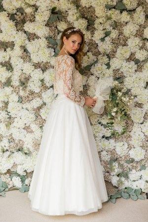 Boho wedding skirt and top