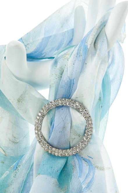 3 Tier Round Diamante Buckle Accessories