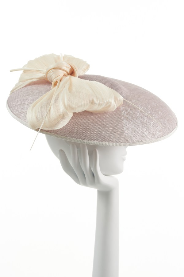 Pink Large Bow Hat