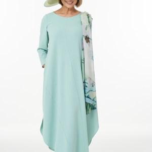 Mint Shirt Hem Dress