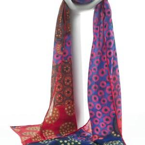 Silk Vittorio Zecchin Crêpe de Chine Silk Scarf
