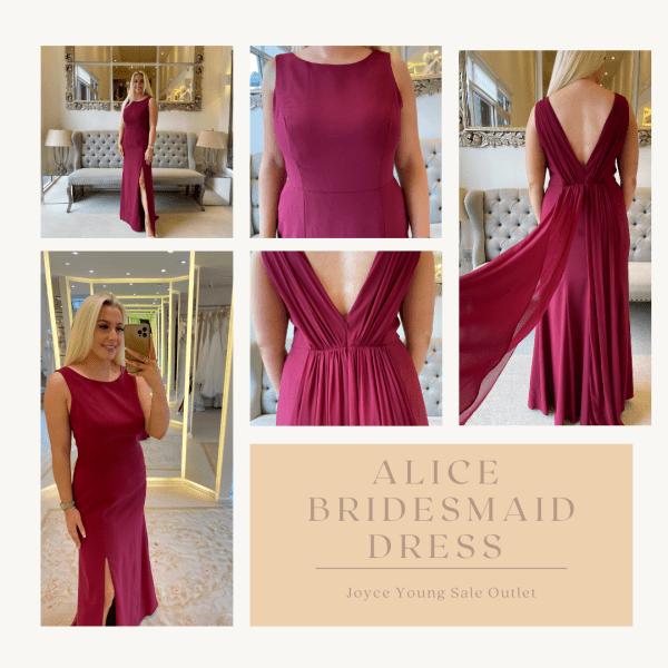 Alice Sale Bridesmaid dress