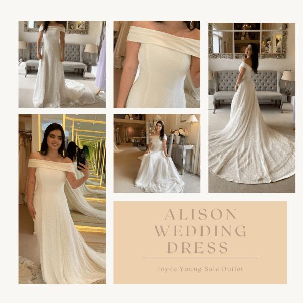 Alison Sale Wedding Dress