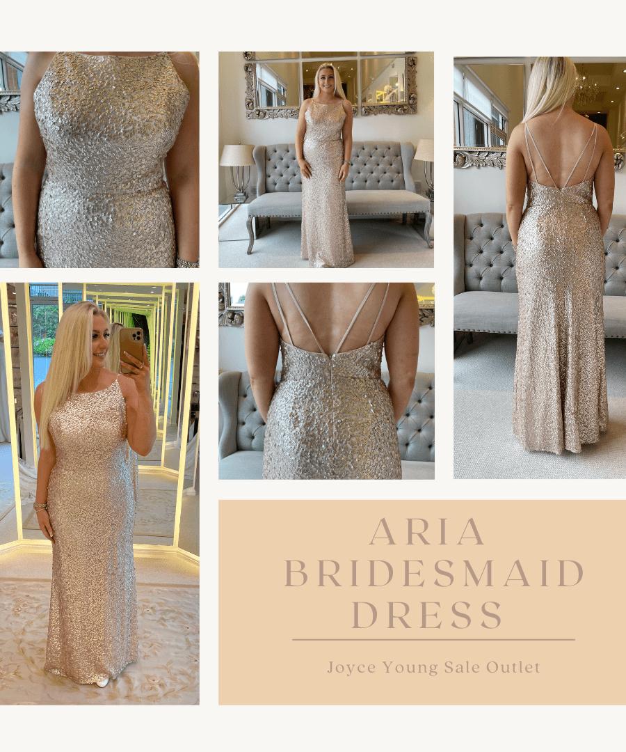Aria Sale Bridesmaid dress