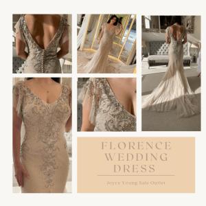 Florence sale wedding dress