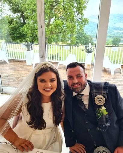 Helena and James Wedding