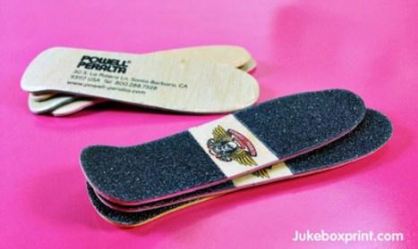 Designed by Jukebox Print for Skateboard Company