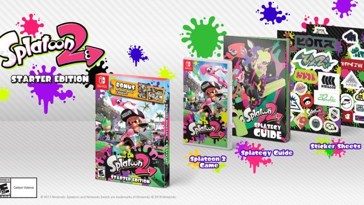 Splatoon 2 Start Edition Announced For March 16