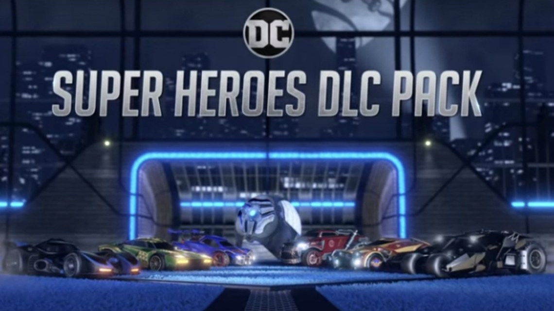 DC Super Heroes DLC Pack is now available in Rocket League A press release from Psyonix