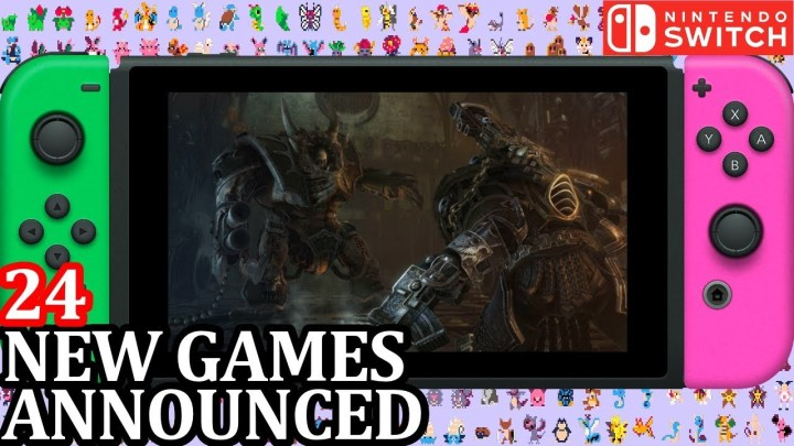 Game Announcements for Week 1 April 2018 24 New Switch Games Announced