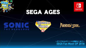 Sega Ages coming to Nintendo Switch It's coming to the USA as well.
