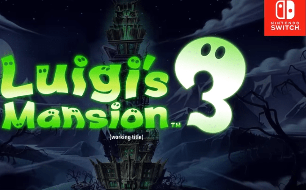 Luigi's Mansion 3 Announced at the Direct's Start: Coming 2019 Luigi's getting a 3rd Mansion