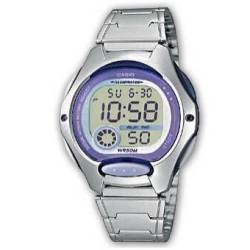 d0fdefee8d0a Reloj Casio digital lila