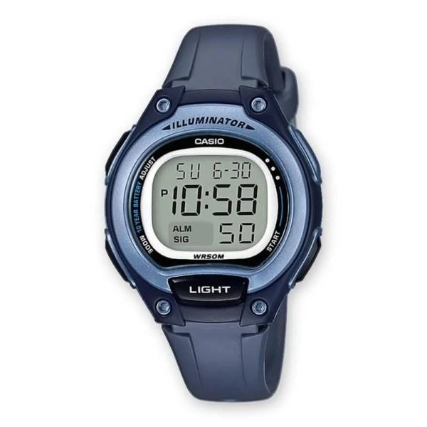 Reloj Casio LW-203-2AVEF de niña NEW con caja y correa de resina azul  Casio Collection