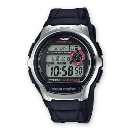 Reloj Casio WV-M60B-1AER de hombre NEW con caja de acero y correa de nylon negra Casio Collection