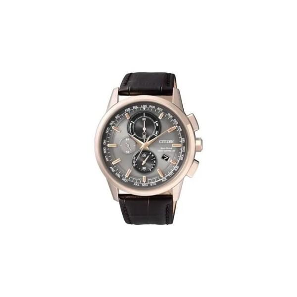 Reloj Citizen AT8113-12H de hombre NEW con caja de acero ip oro rosa Eco-Drive Radio-Controlado 2015