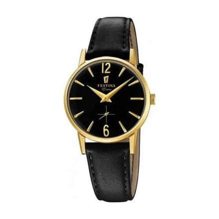 Reloj Festina F20255/3 de mujer NEW con caja de acero ip chapada y correa de piel nueva colección Extra