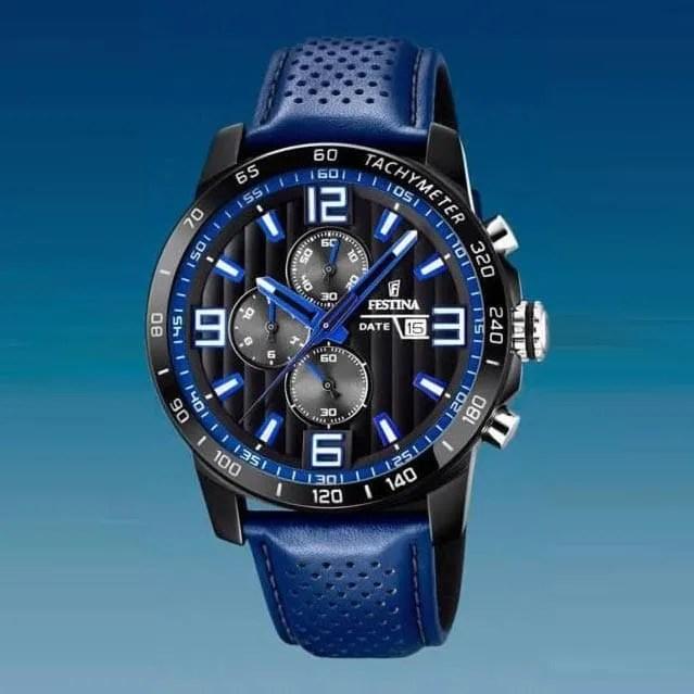 Reloj Festina F20339 4 de hombre NEW con caja de acero ip black y correa 6e94e544d5b2
