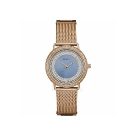 Reloj Guess W0836L1 de mujer NEW con caja y brazalete de acero malla milanesa en oro rosa 18 kilates