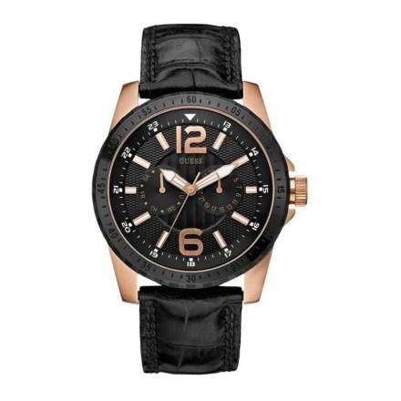 Reloj Guess W12091G2 de acero y piel