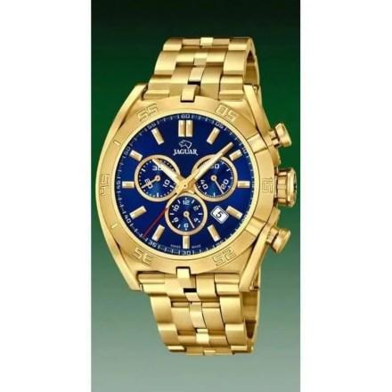 Reloj Jaguar J853/3 de hombre NEW con caja y brazalete de acero chapado en oro de 18 kilates colección especial Executive
