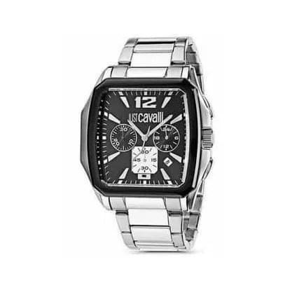 Reloj Just Cavalli R7273173525 de hombre OFERTA con caja y brazalete de acero Cronógrafo