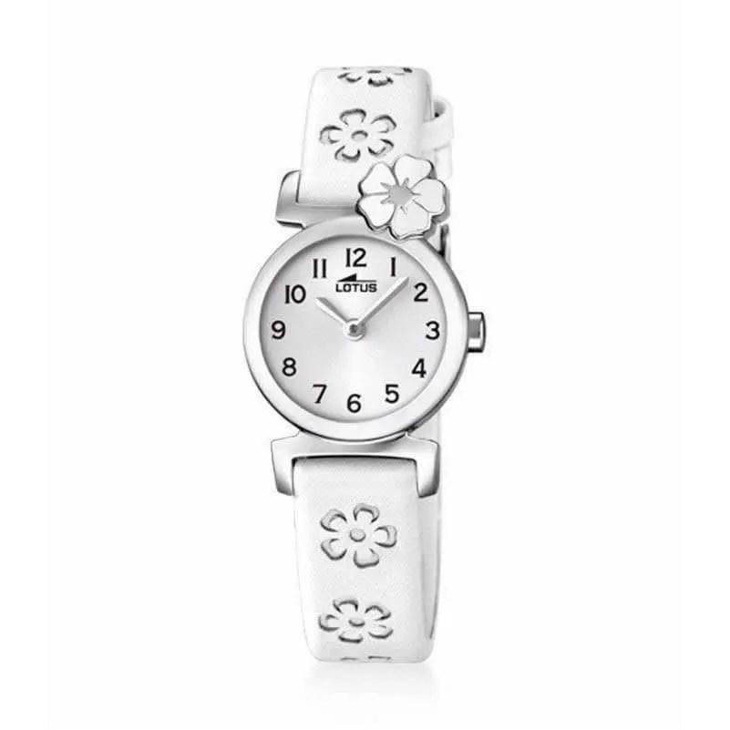 Reloj Lotus 18174 1 de niña NEW con caja de acero y correa de piel ... 8677b118a762