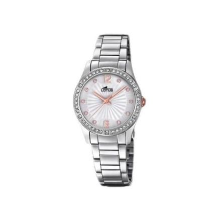 Reloj Lotus 18383/1 de mujer NEW con caja y brazalete de acero y Swarovski colección Bliss