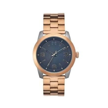 Reloj Mark Maddox HM0100-55 de hombre NEW con caja y brazalete de acero bicolor chapado colección Mission