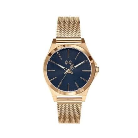 Reloj Mark Maddox MM7102-57 de mujer NEW con caja y brazalete de acero chapado colección Marina