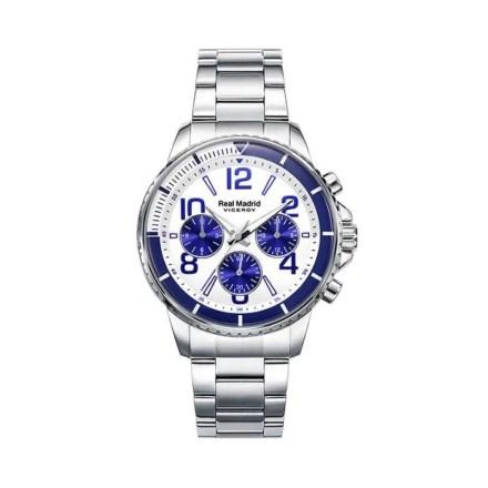 Reloj Viceroy 42309-07 de hombre NEW con caja y brazalete de acero Cronógrafo colección Real Madrid