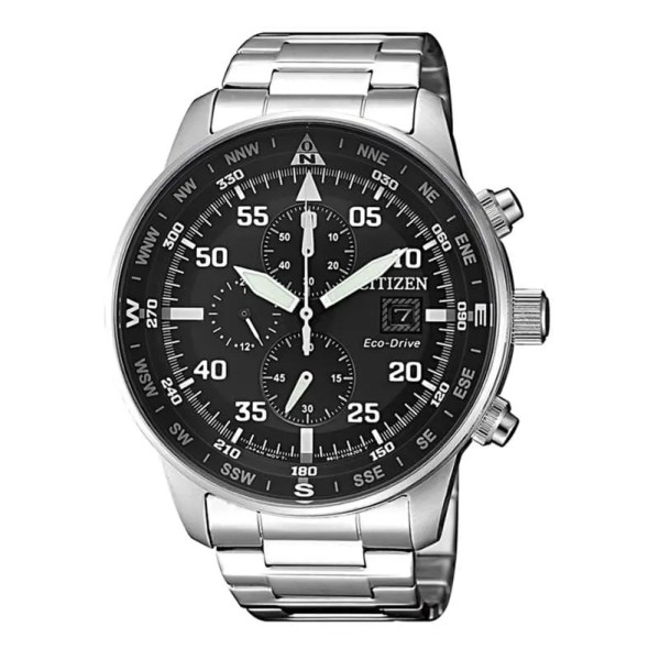Reloj Citizen CA0690-88E de hombre NEW con caja y brazalete de acero Crono Aviator