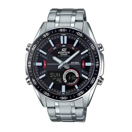Reloj Casio de hombre EFV-C100D-1AVEF con caja y correa de acero inoxidable