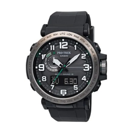 Reloj Casio de hombre PRW-6600Y-1ER con caja y correa de resina y recepción de señales de radiofrecuencia