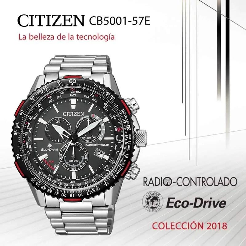 Banner reloj Citizen CB5001-57E