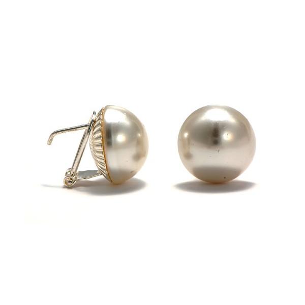 pendientes perlas originales