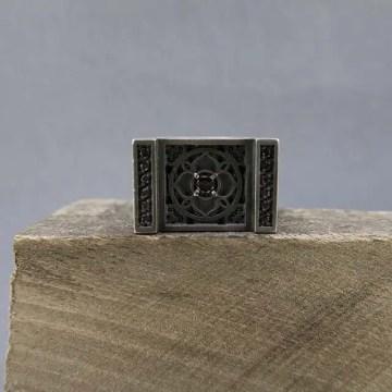 sello cuadrado mandala