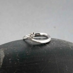 anillo de compromiso diamante en Zaragoza