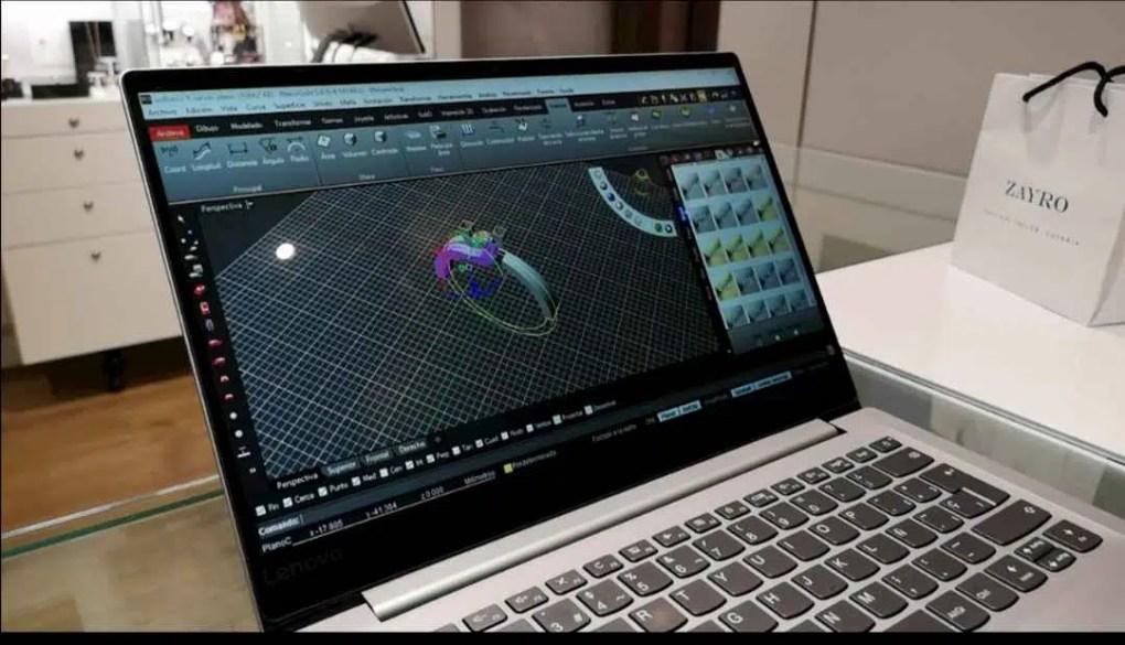 diseño 3D de anillos de compromiso