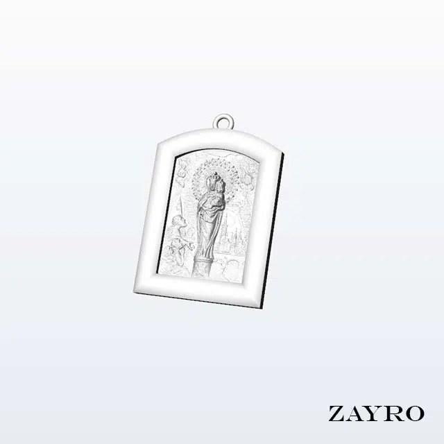 diseño virgen del pilar joyeria zaragoza