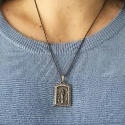 medalla virgen del pilar zaragoza grande