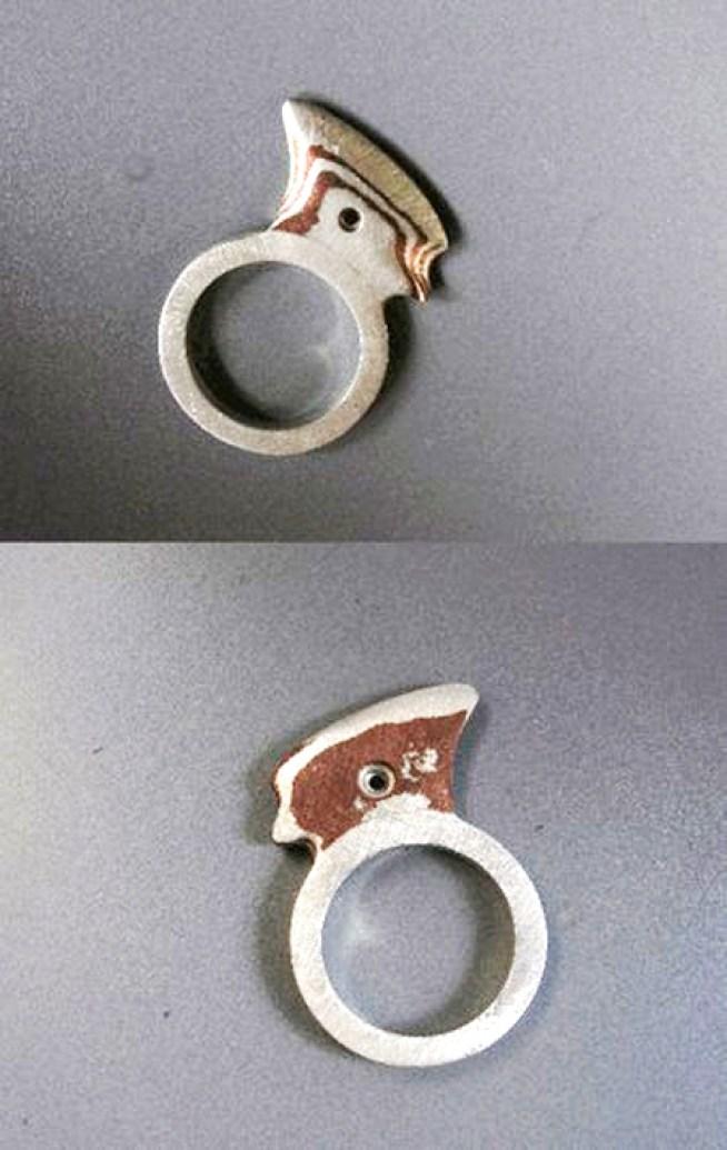 anillo Hacha