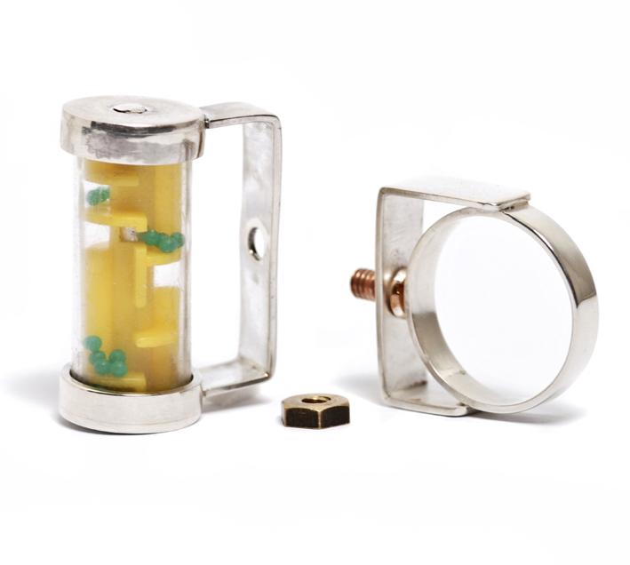 Anillo Laberinto cilindro 2