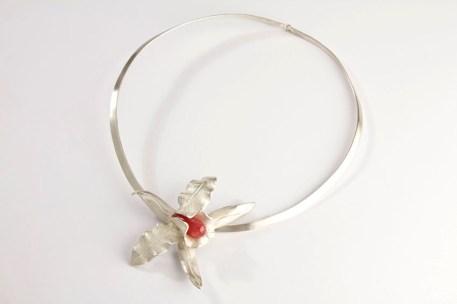 Gargantilla orquídea 2