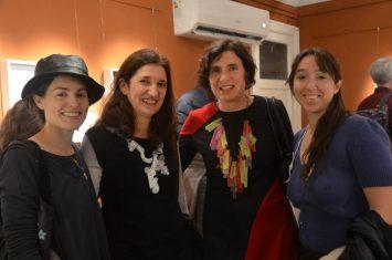 Sabina Tiemroth, Mercedes Castro Corbat, Paula Isola y Patricia Gallucci